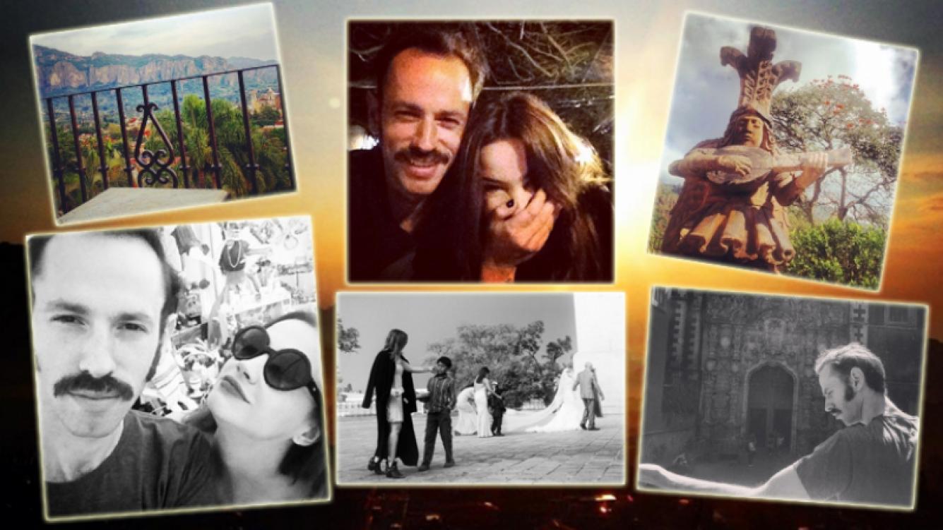 Celeste Cid y Leandro Taub, de vacaciones en México (Foto: Instagram)