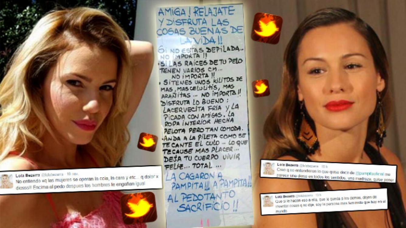 Lola Bezerra habló del escándalo de Pampita y tuvo un picante cruce con sus seguidores. (Foto: Web)