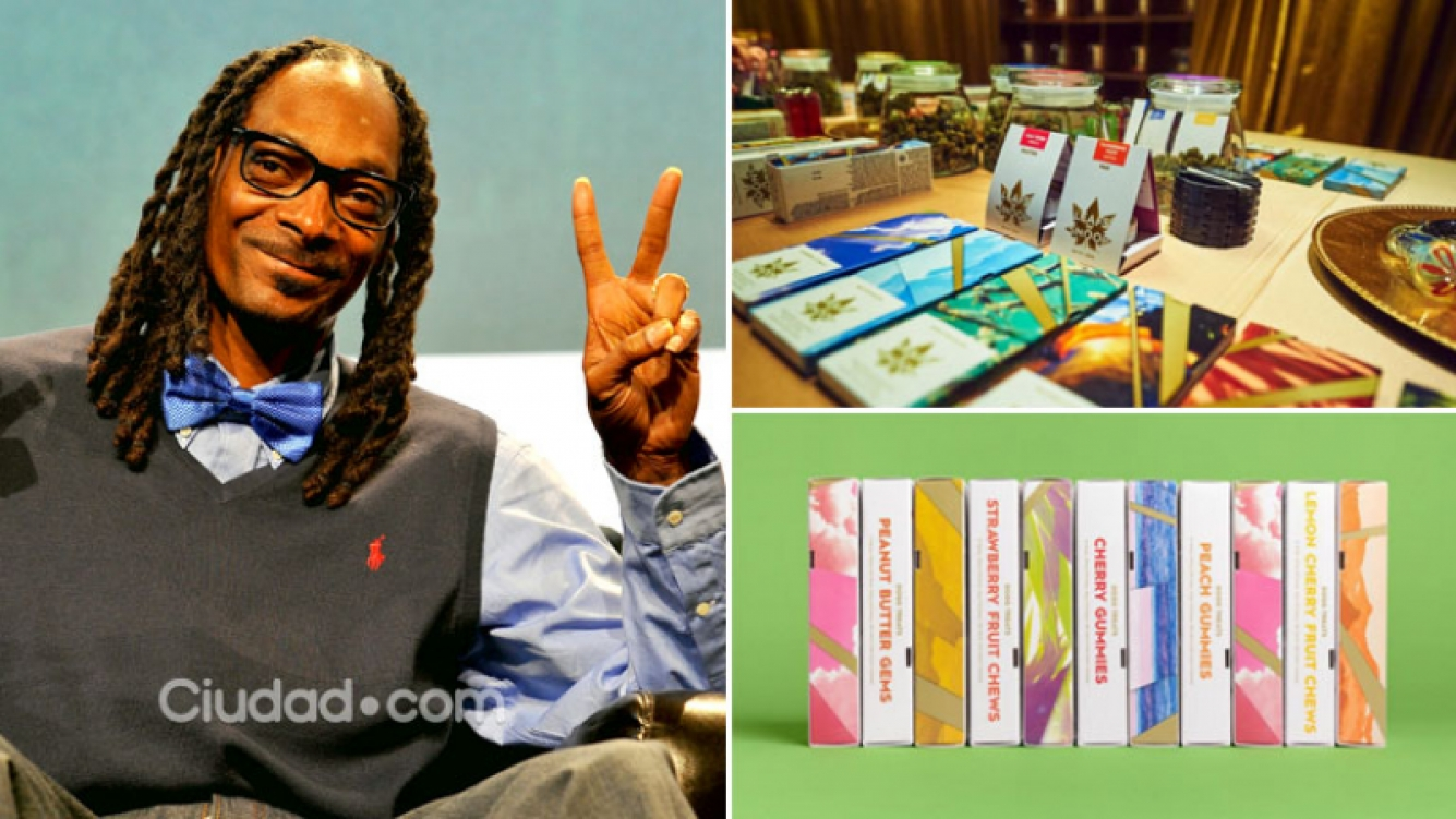 El famoso rapero Snoop Dogg lanzó su propia línea premium… ¡de cannabis! Foto: AFP e Instagram