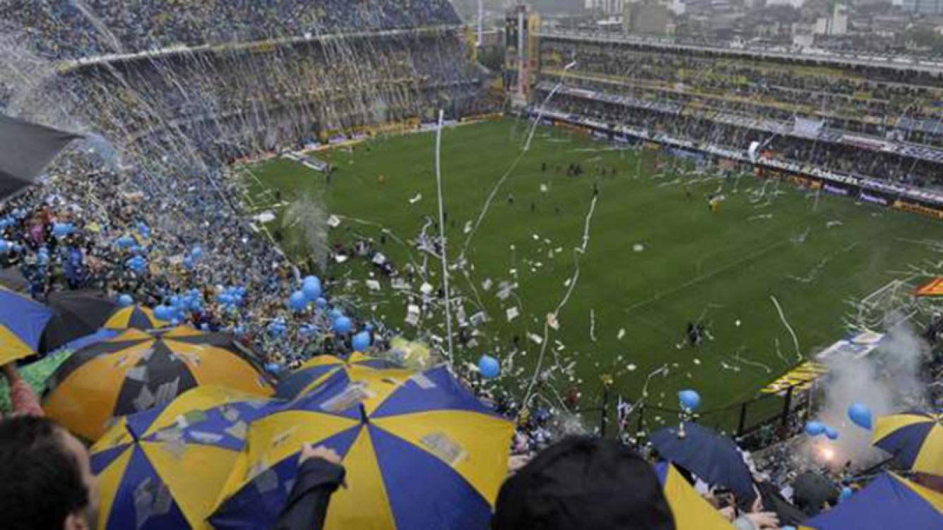 La Bombonera, el mejor estadio del mundo. Foto: Web.