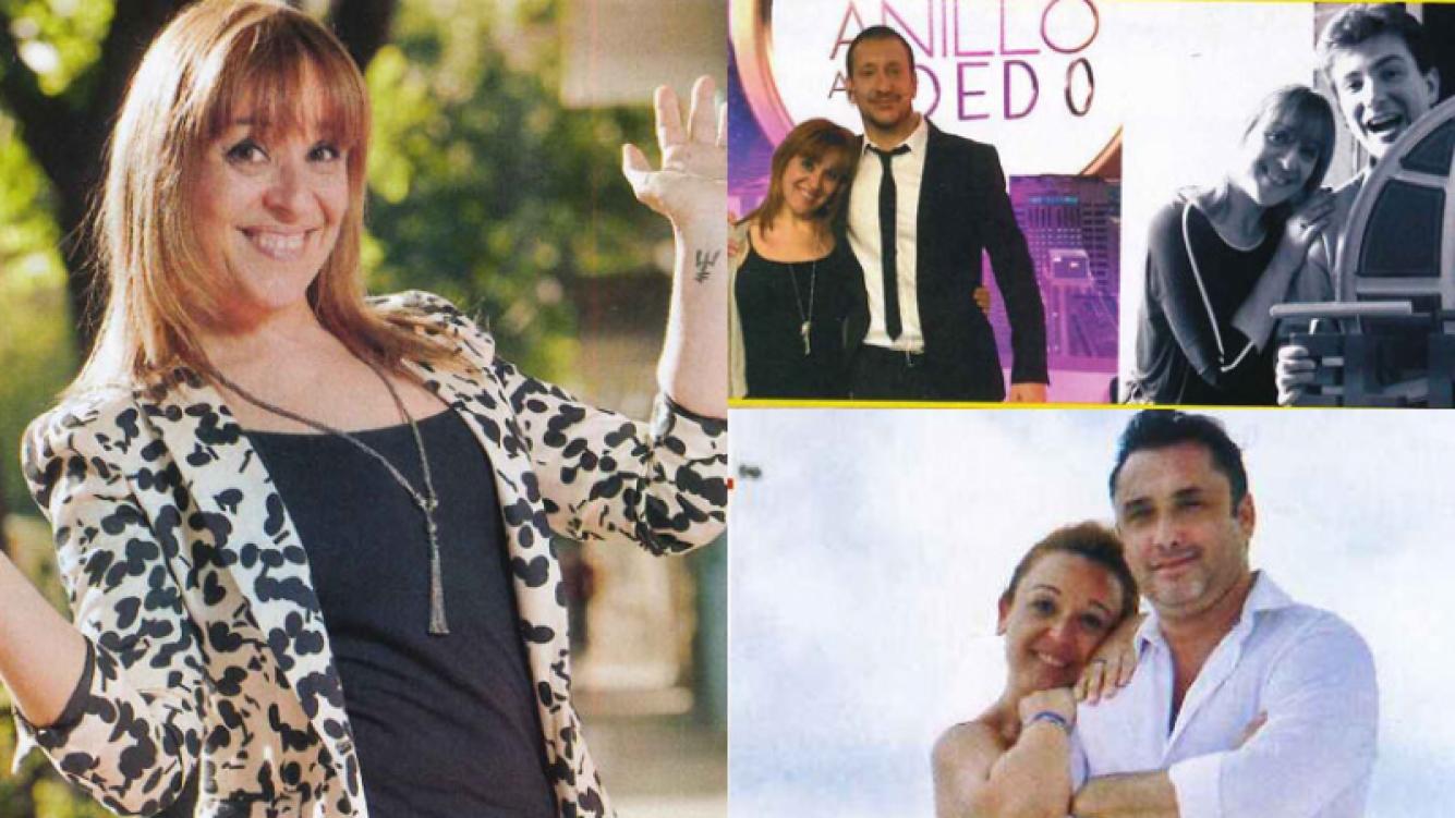 Marcela Godoy, año de trabajo intenso y mucho amor con su novio (Fotos: Revista Pronto).
