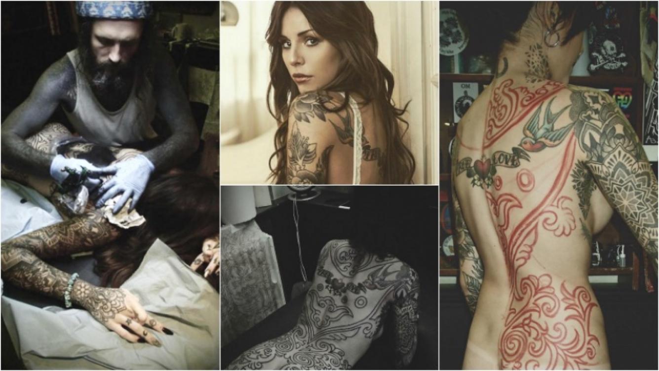 Cande Tinelli, diosa de tinta: mirá la foto desnuda que le tomó su tatuador. Foto: Instagram/ Fashion TV