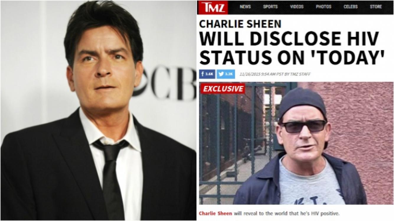El portal TMZ adelantó que Charlie Sheen confesará que vive con VIH. Foto: Web/ Captura