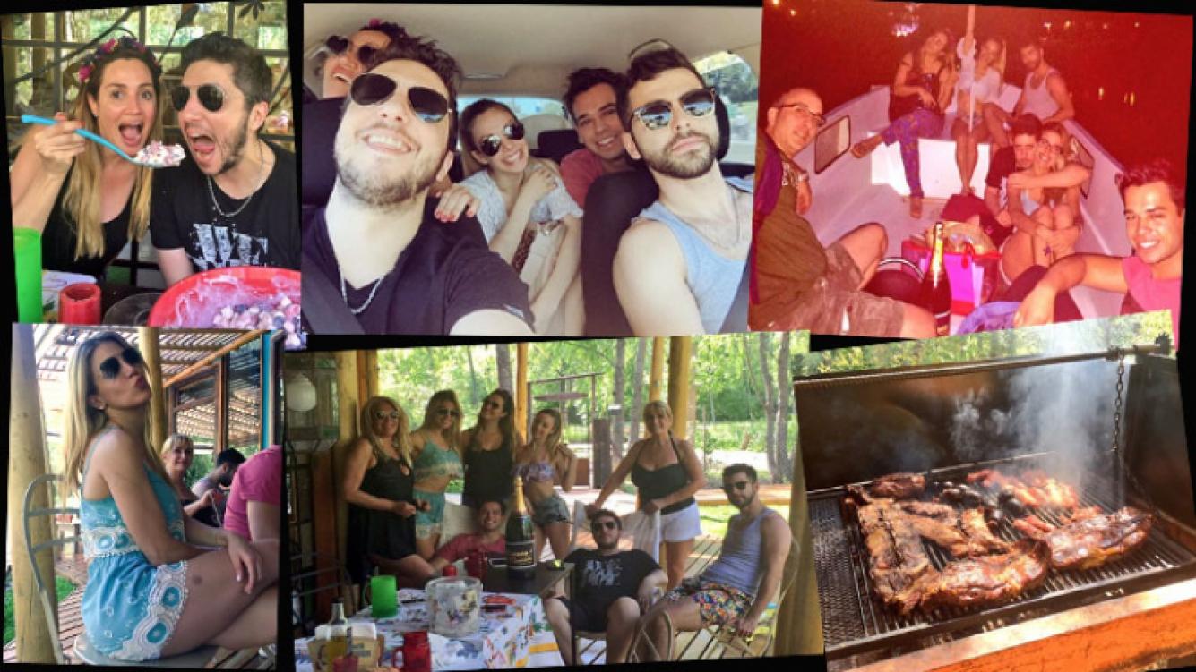 El viaje de locura del elenco de El Champán las pone mimosas en una isla del Tigre. (Foto: Twitter)