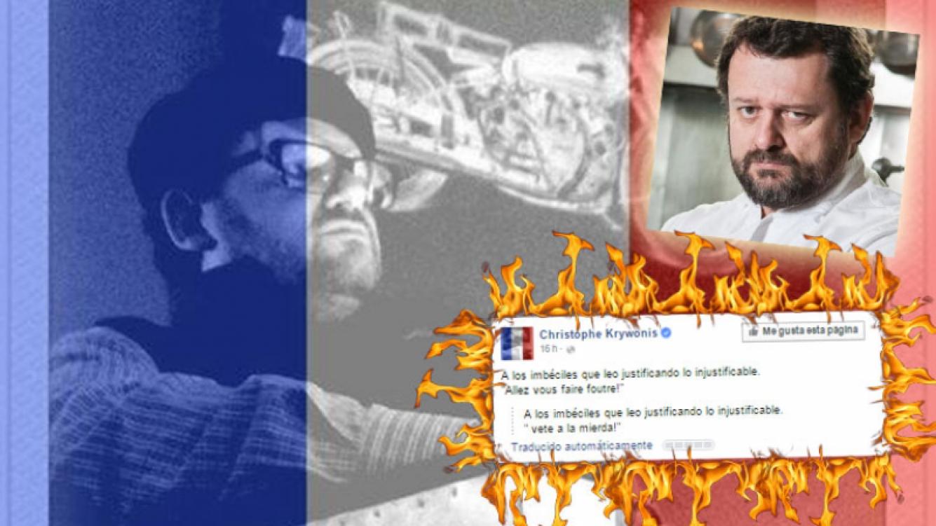 Picantísimo ida y vuelta de Christophe con sus seguidores. (Foto: Web)