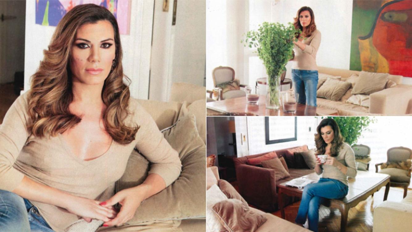 Florencia de la Ve, su nuevo hogar y su crisis financiera (Foto: revista Gente)