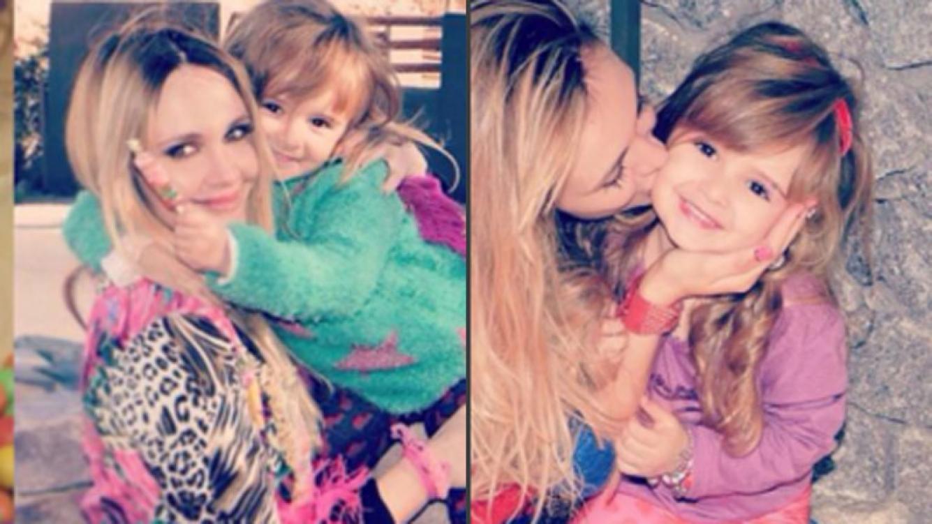 Melina Pitra y un hermoso mensaje de cumpleaños para su hija mayor (Fotos: Instagram).