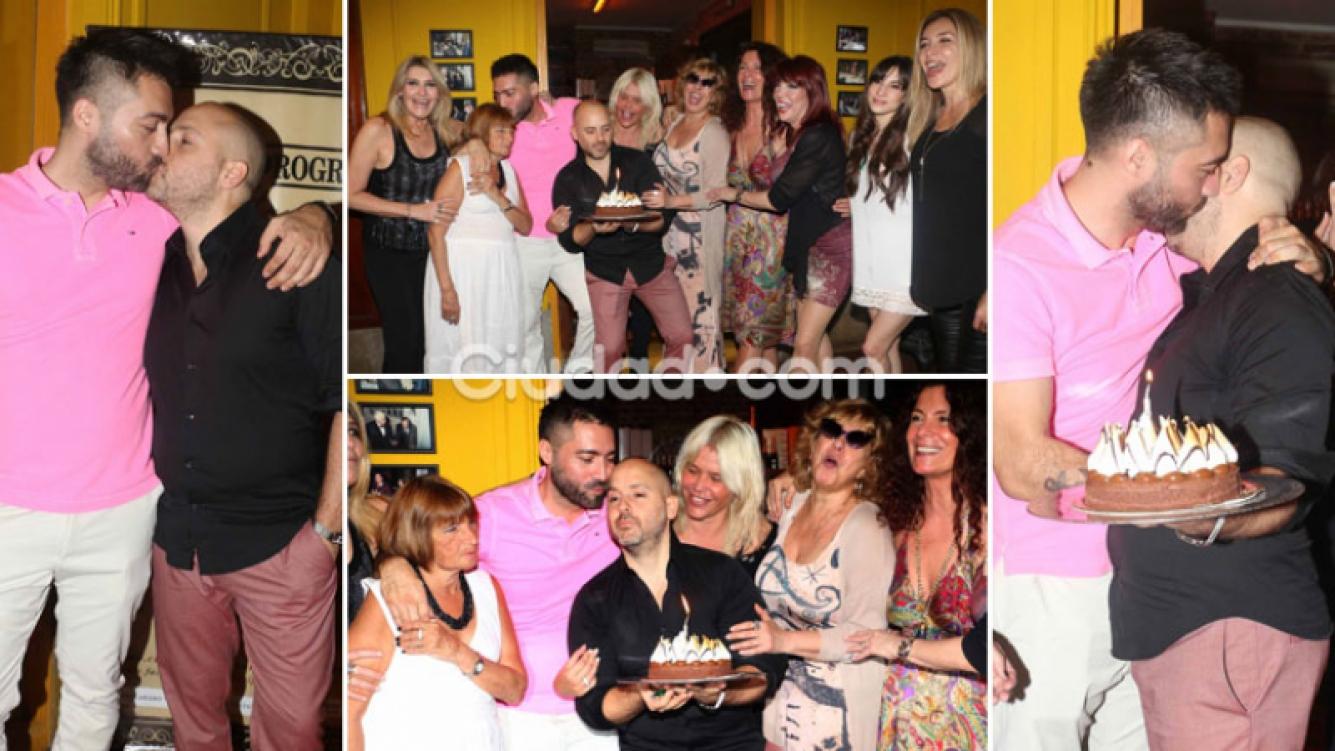 Las fotos del divertido cumpleaños de José María Muscari. (Foto: Movilpress)