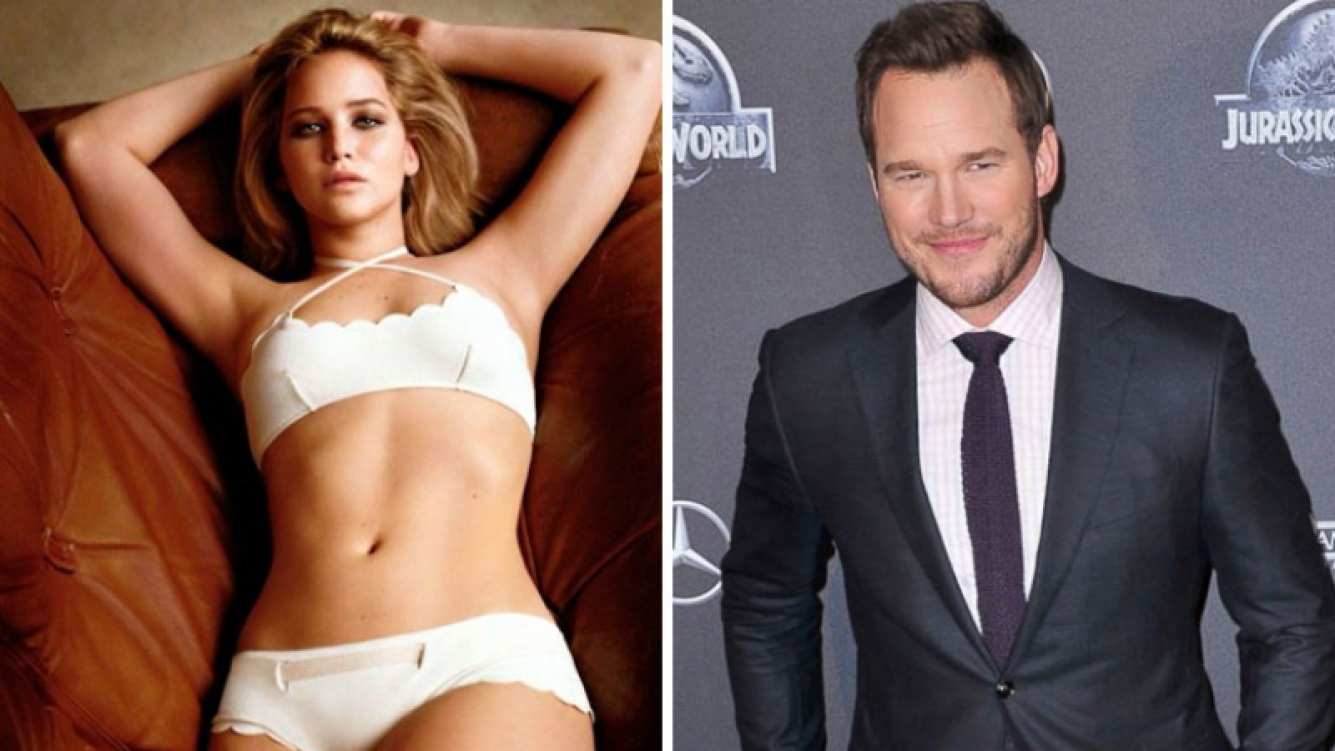 Jennifer Lawrence y Chris Pratt. Foto: Web