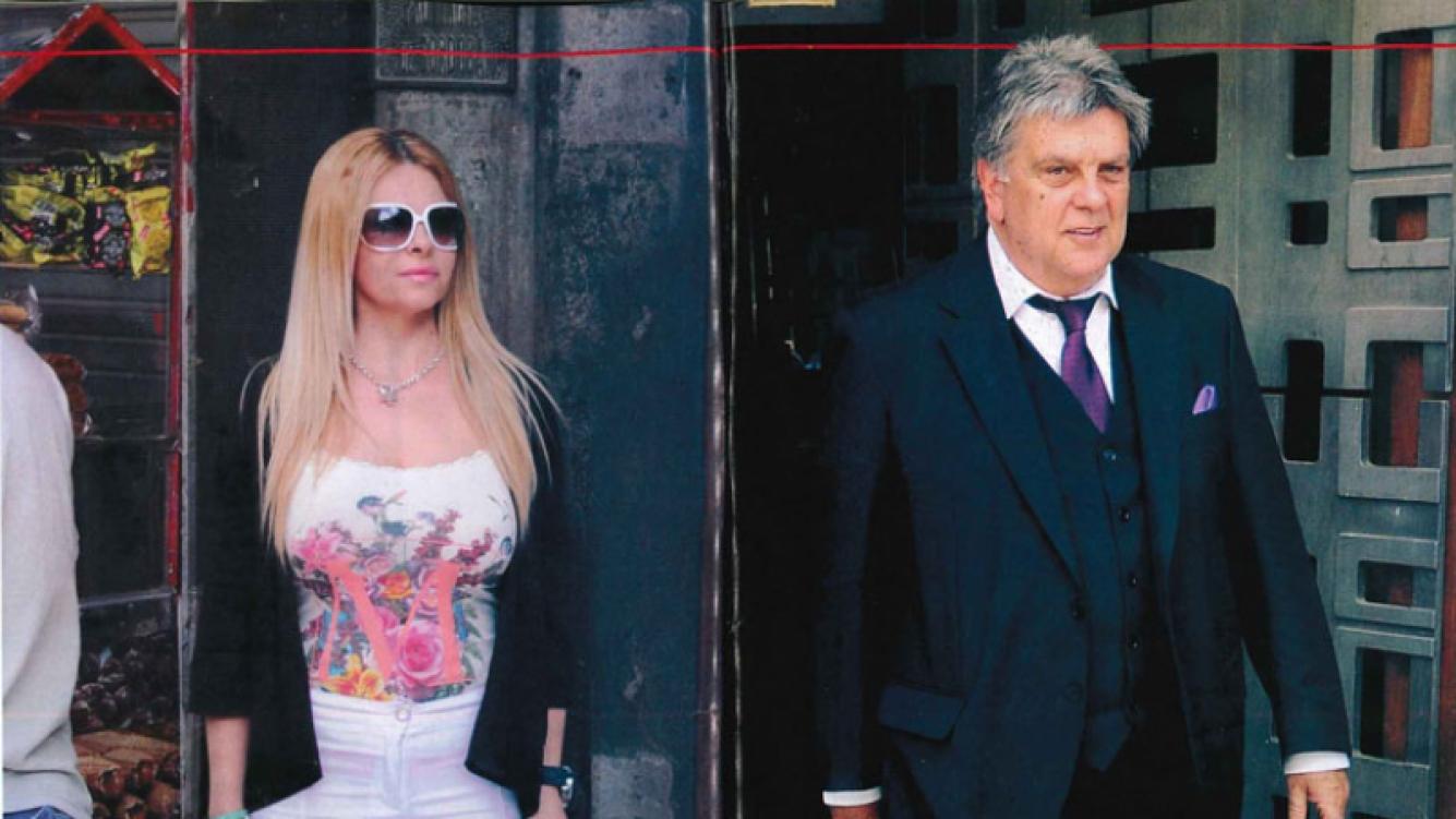 Fabiana Liuzzi y Luis Ventura acordaron un régimen de visitas por Antonio. Foto: revista Pronto