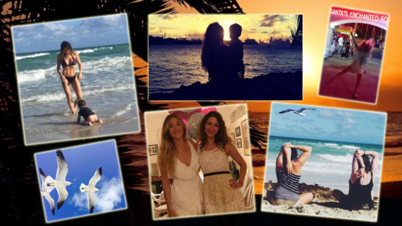 Jimena Barón, vacaciones familiares  en Miami (Foto: Instagram)