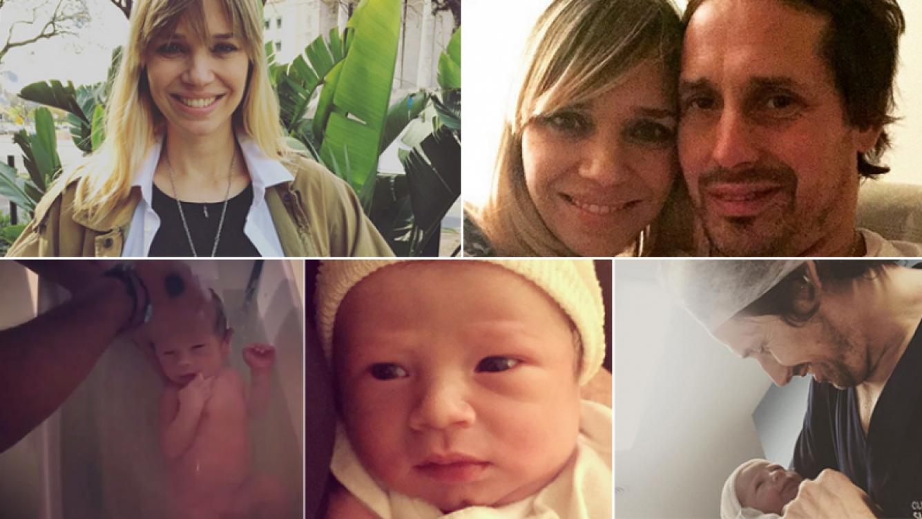 Lorena Ceriscioli fue mamá por primera vez. Fotos: Instagram.