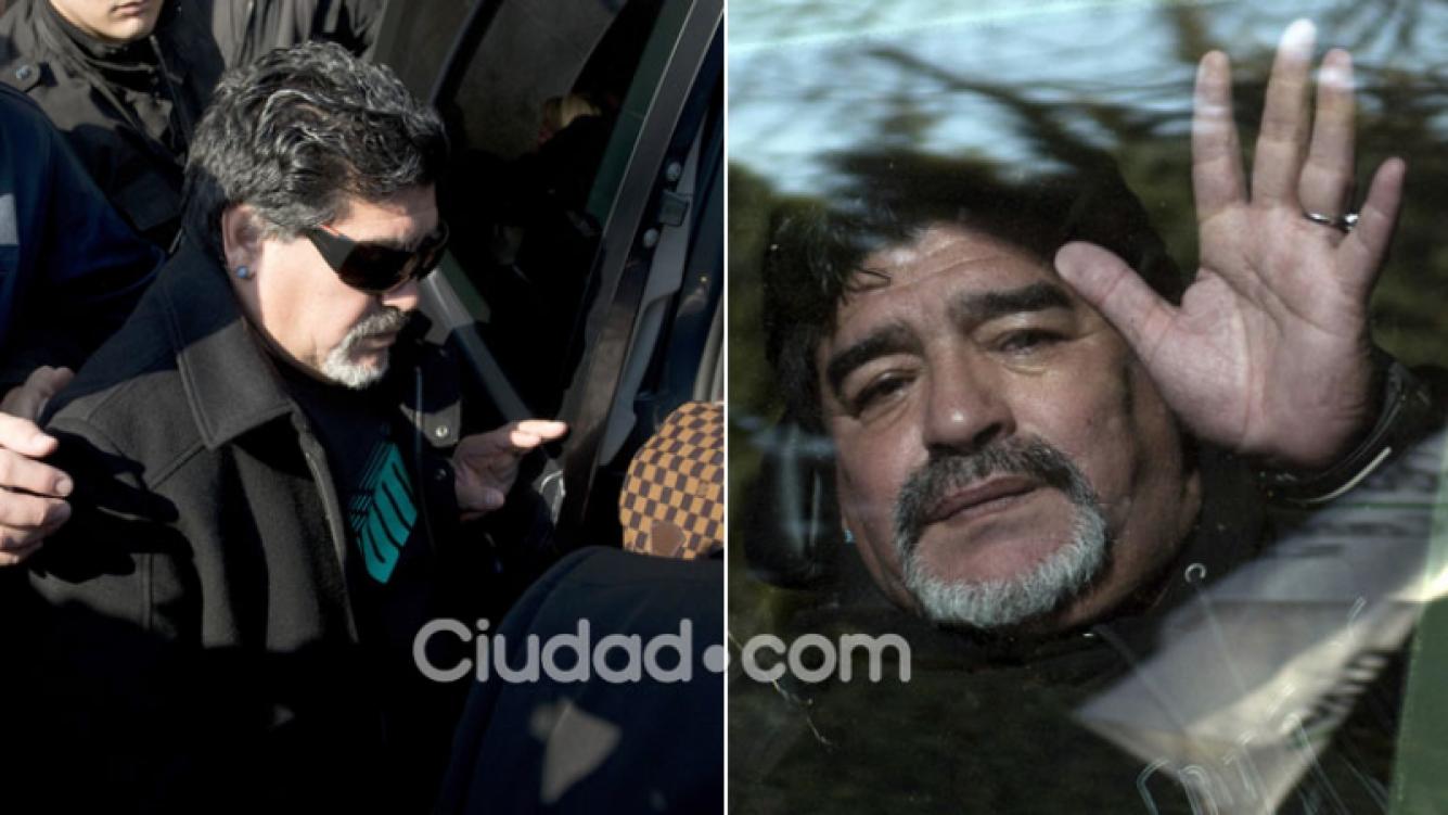 La salud de Maradona, luego de su bypass gástrico. (Foto: AFP)