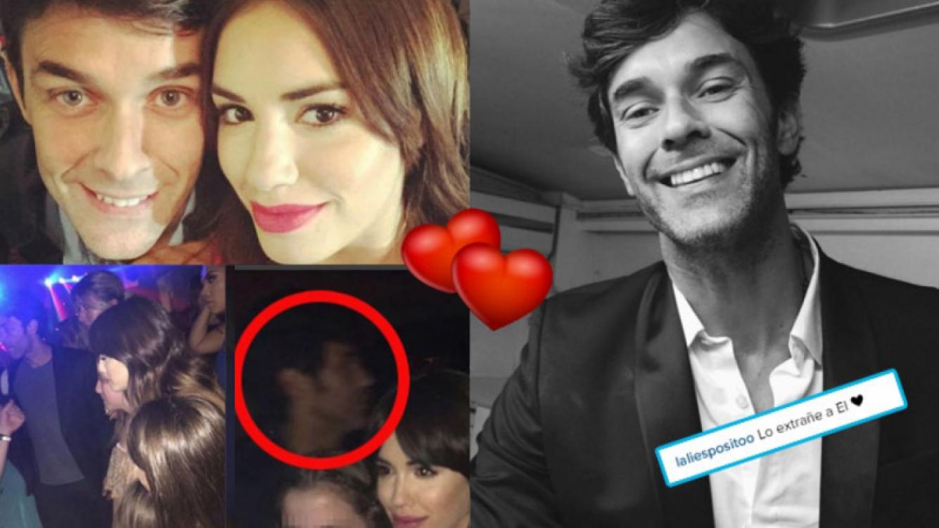 Lali Espósito y Mariano Martínez se reencontraron tras el viaje de la actriz (Fotos: Instagram).