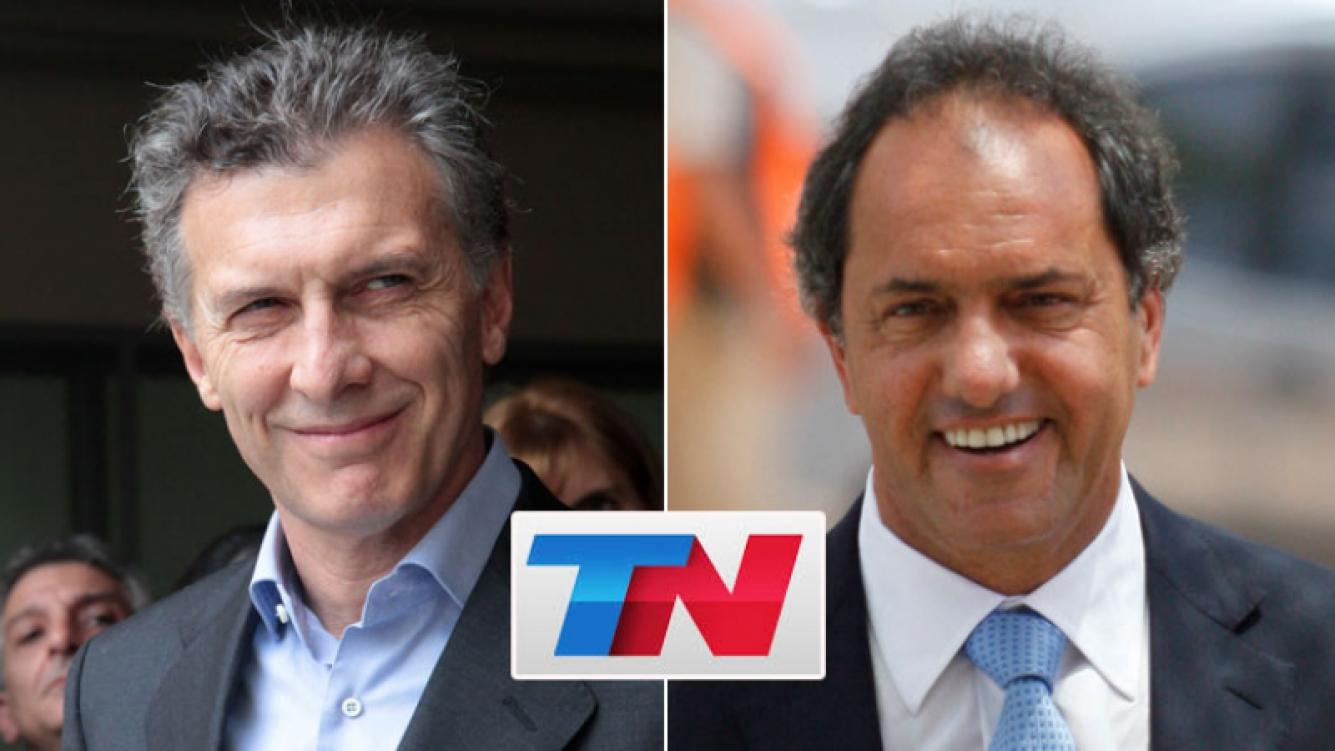 TN, líder del rating en el balotaje presidencial. (Foto: Web)
