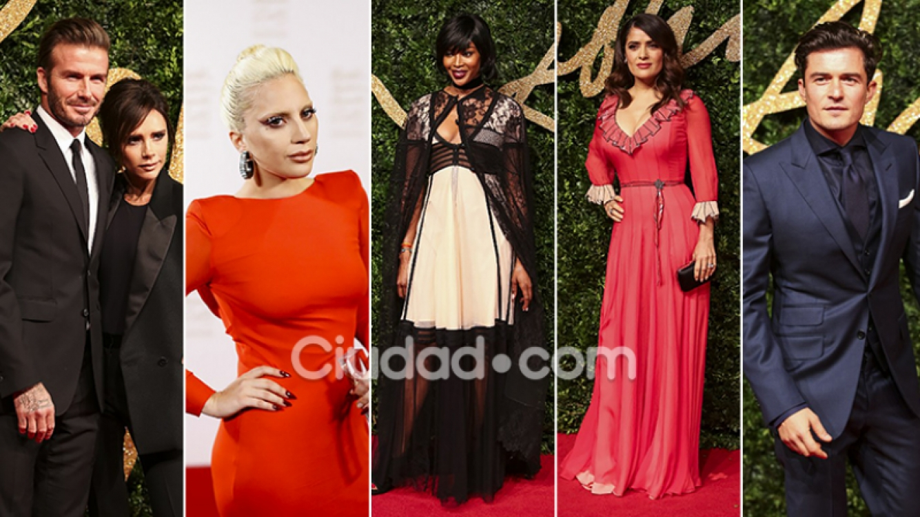 Los famosos más top en los British Fashion Awards 2015. (Fotos: AFP)