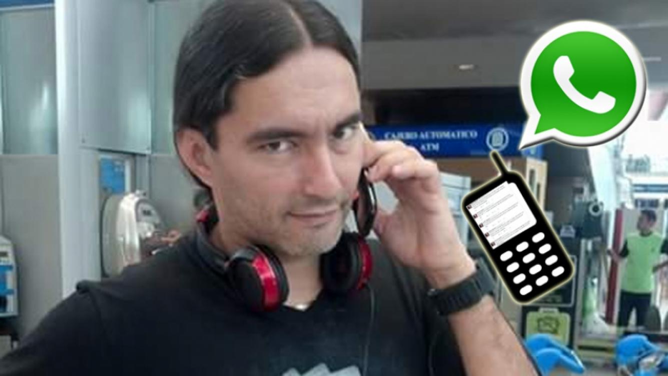 Daniel Agostini, fastidioso porque no lo paran de llamar por teléfono (Foto: Web)