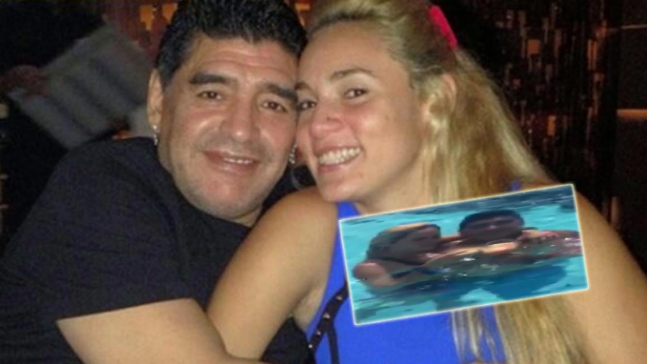 Diego Maradona anunció que se casa con Rocío Oliva en la Argentina (Foto: Web)