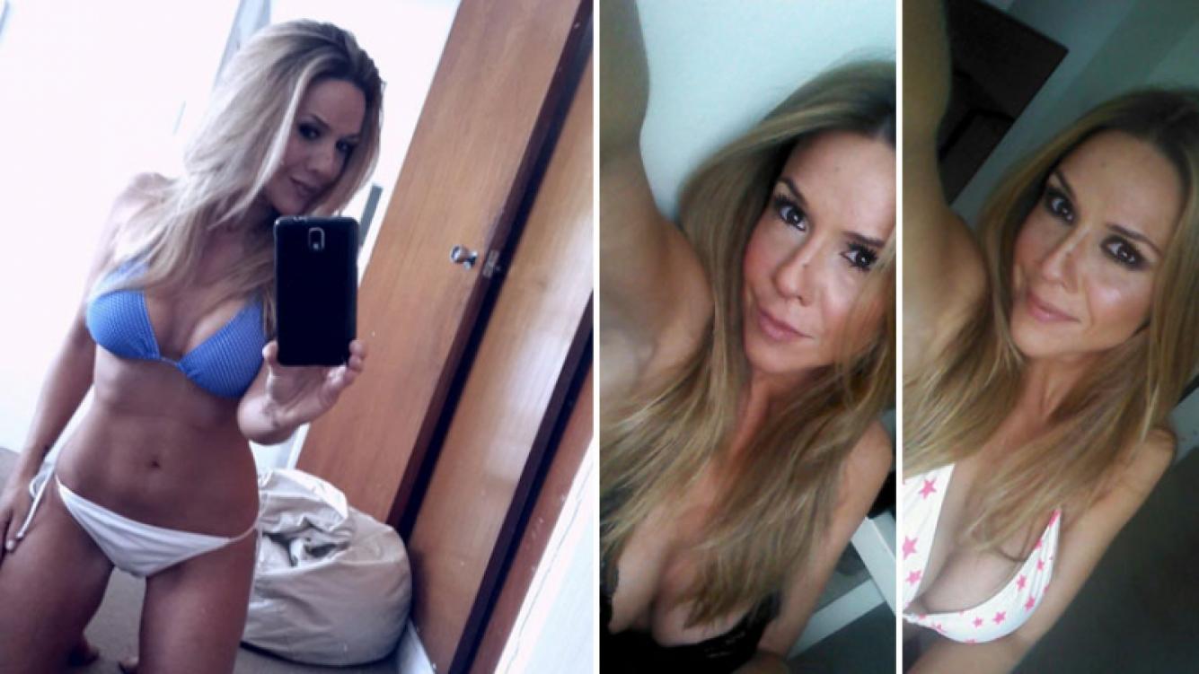 Laura Miller incendió Twitter con su selfie super hot. Foto: Twitter.
