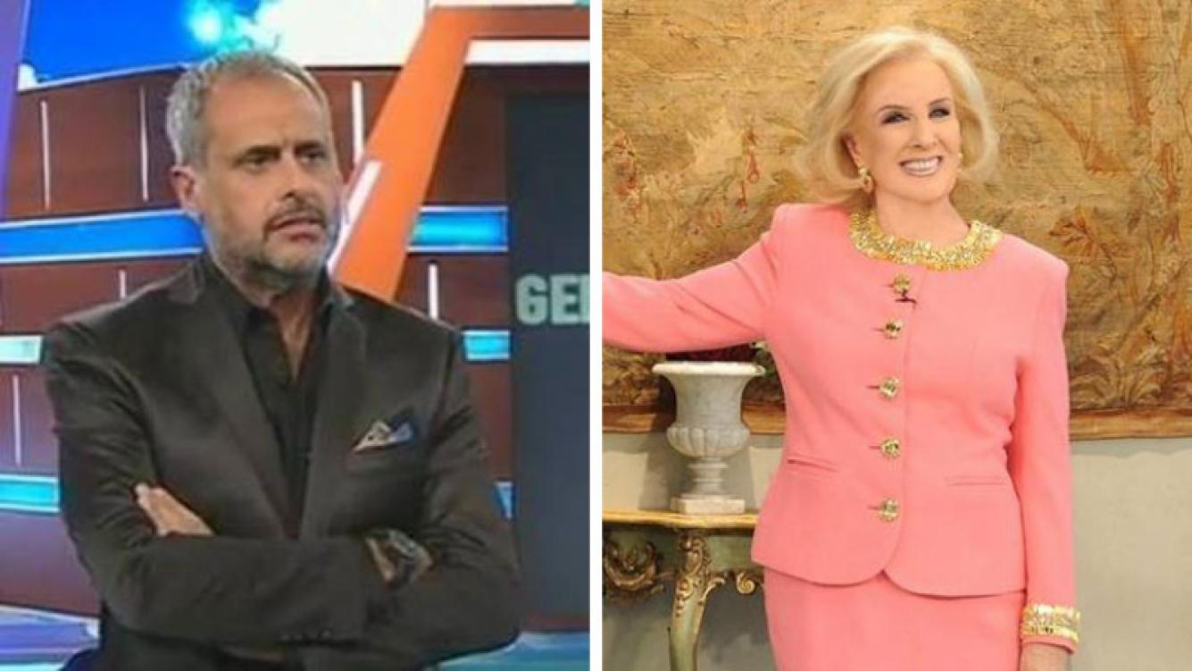 """Jorge Rial """"ninguneó"""" el piropo de Mirtha Legrand. (Foto: Web)"""