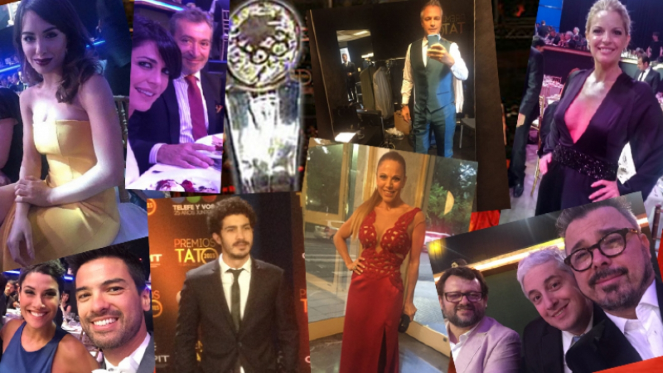 El detrás de los Premios Tato 2015. Fotos: Twitter