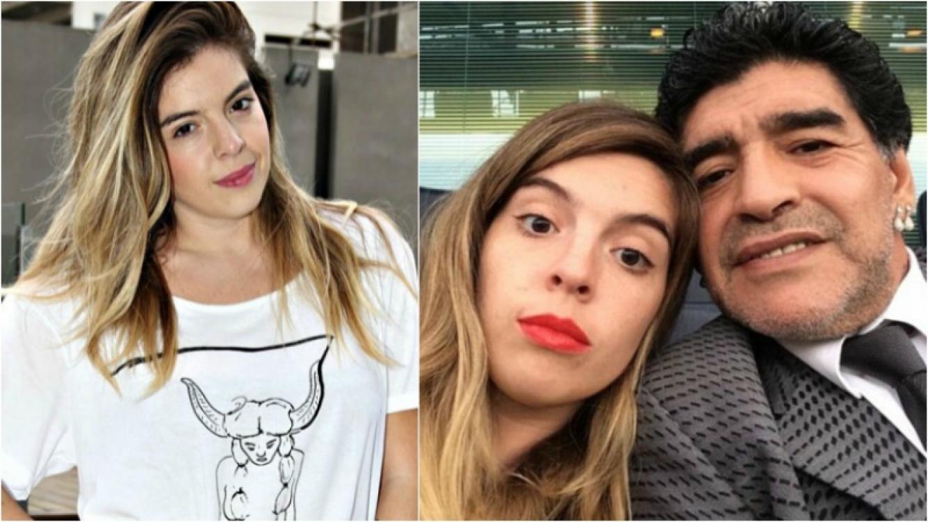 """Dalma Maradona, dura sobre el entorno de Diego: """"Es muy difícil ser amigo real de mi papá. No me puedo relacionar con ese mundo"""". Foto: Web"""
