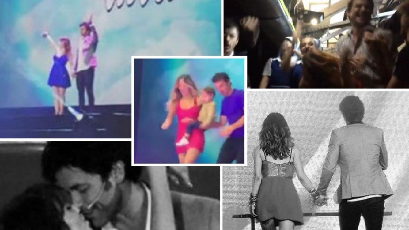 Así fue la multitudinaria despedida de Esperanza Mía del Luna Park. (Fotos: Instagram y Twitter)