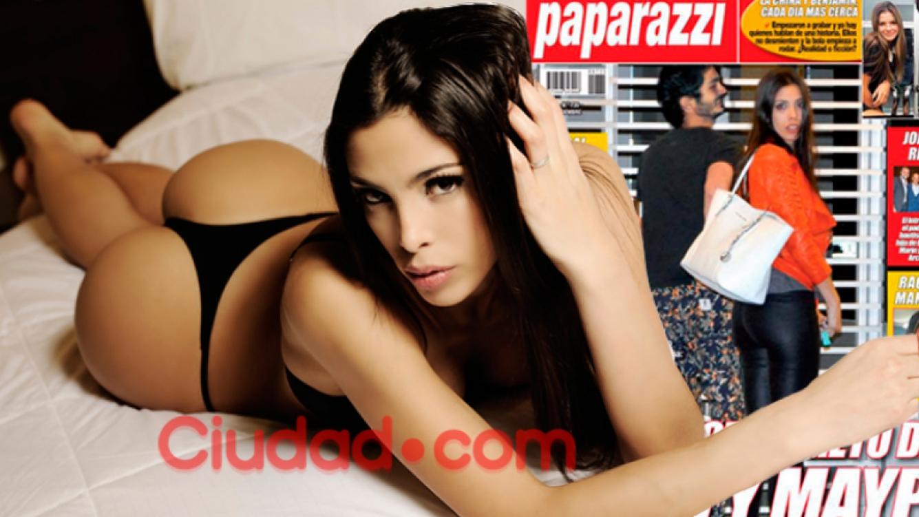 Maypi Delgado habló con Ciudad.com tras la tapa de Paparazzi: relación blanqueada con el Chino Darín. Foto: archivo Ciudad.com y Paparazzi