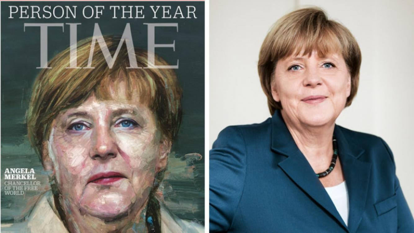 La prestigiosa revista estadounidense Time eligió a Angela Merkel como la persona del año. (Foto: Web)