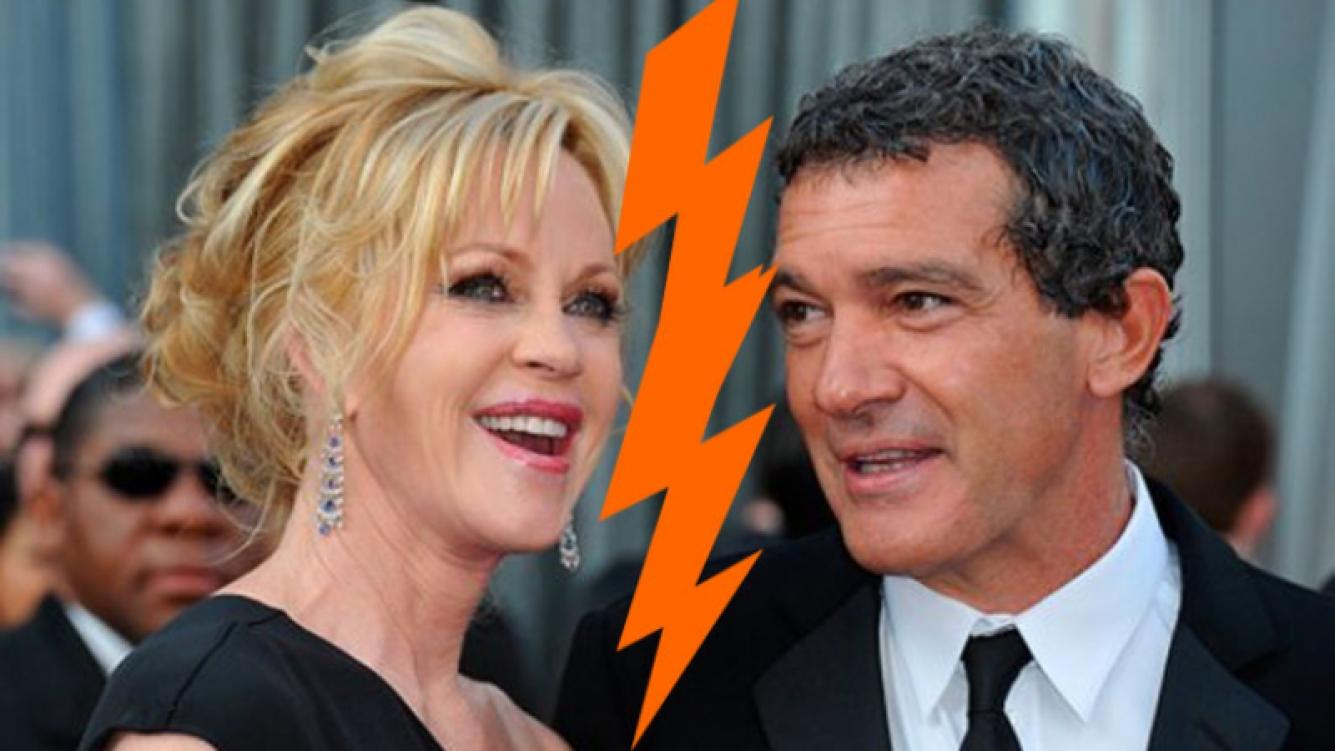 Melanie Griffith y Antonio Banderas acordaron los términos de su divorcio. Foto: Web
