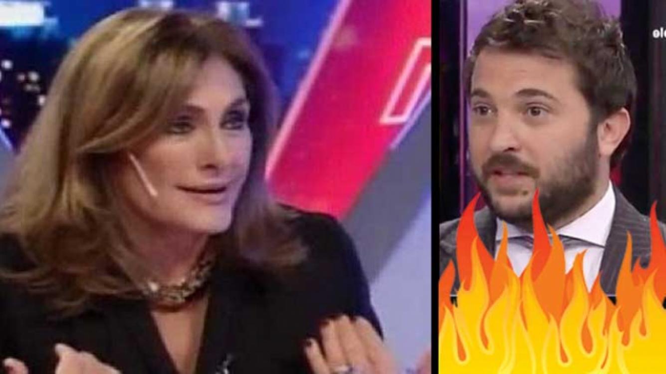 Silvia Fernández Barrio y Diego Brancatelli, más enfrentados que nunca. (Foto: Web)