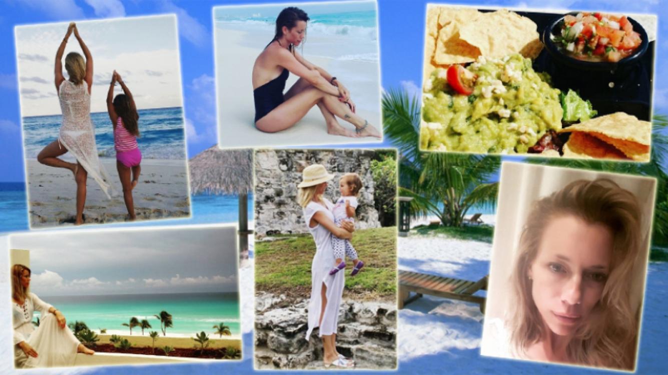 Las vacaciones familiares de Nicole Neumann en Cancún (Foto: Instagram)