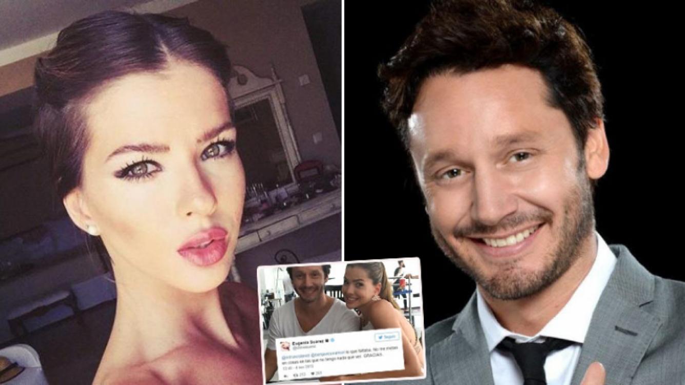 El tweet de la China Suárez sobre los rumores de romance con Vicuña… ¡que después borró! (Foto: Web)