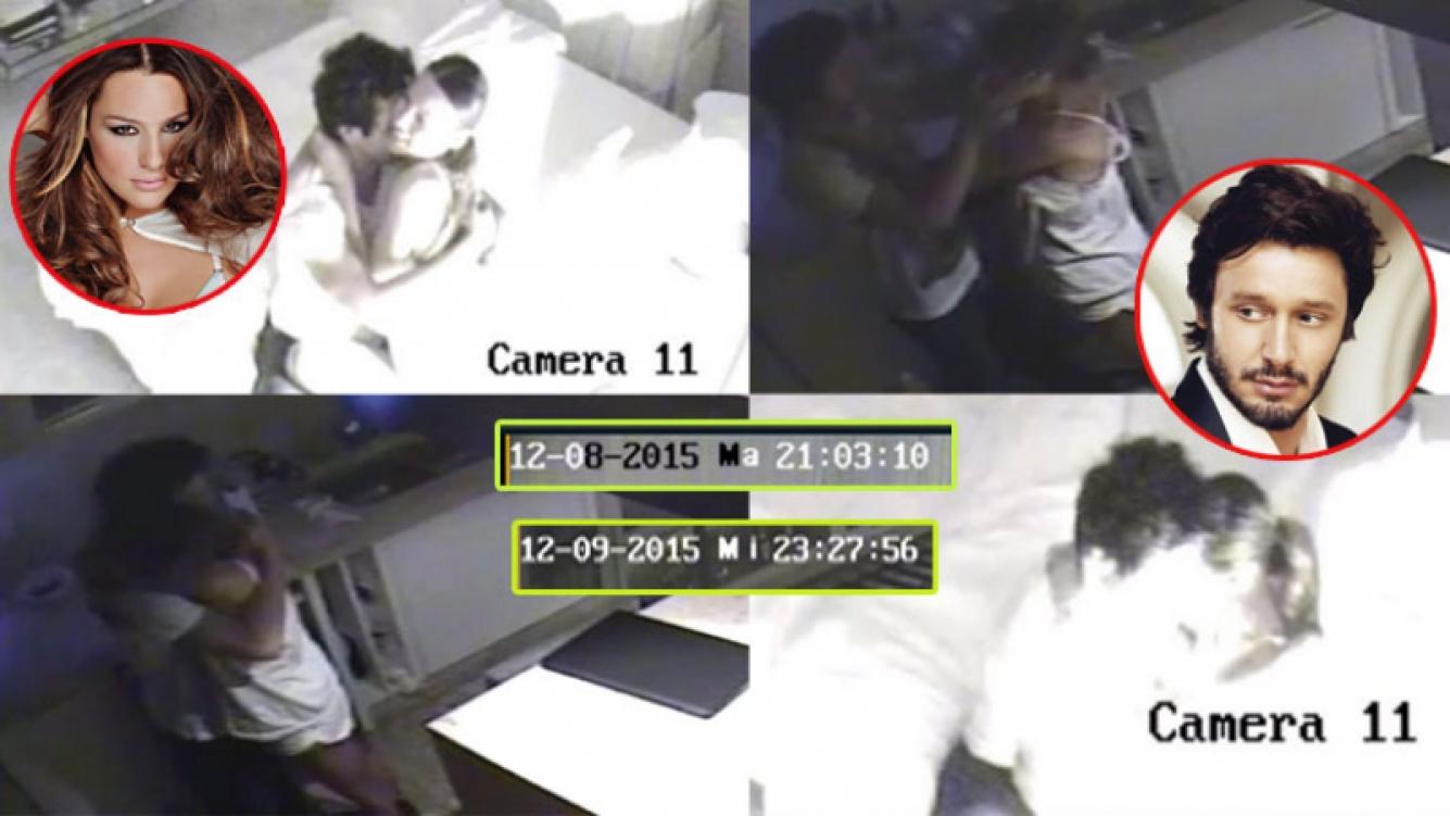 Pampita compartió capturas íntimas junto a Vicuña. Fotos: Web y Twitter.