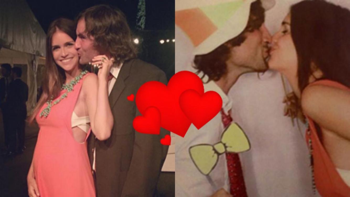 Zaira Nara y Jakob Von Plessen, re enamorados en un casamiento (Fotos: Instagram).