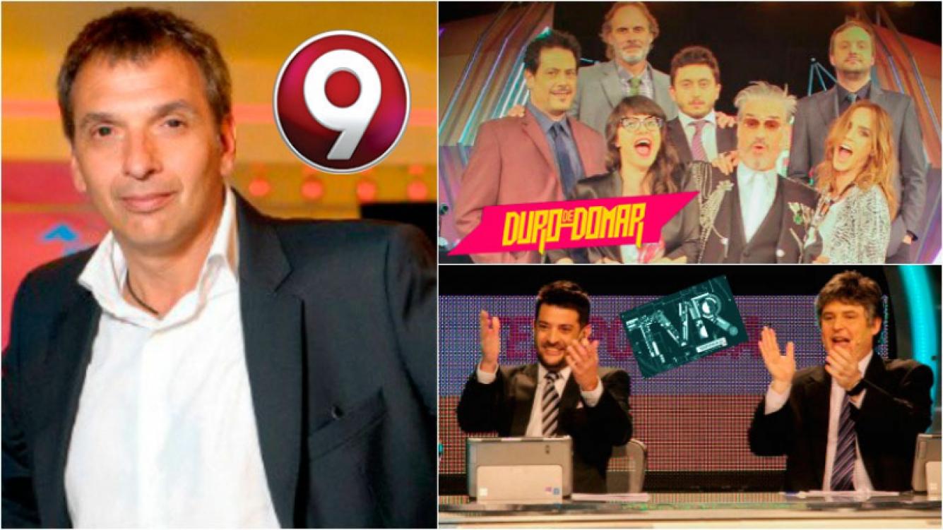 Diego Toni, gerente de Canal 9, sobre el futuro de TVR y Duro de Domar. Foto: Web