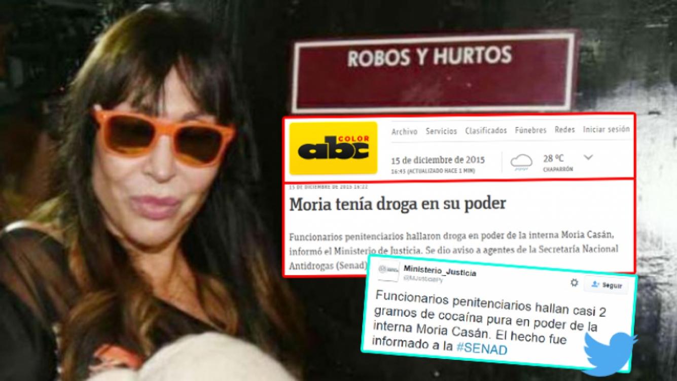 Moria Casán suma problemas en Paraguay. (Foto: archivo Web)