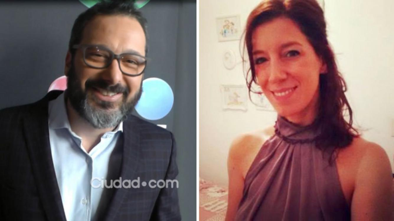 Gerardo Rozín y un incipiente romance con Eugenia Quibel, la locutora de Morfi, todos a la mesa. Fotos: archivo Ciudad.com y Web