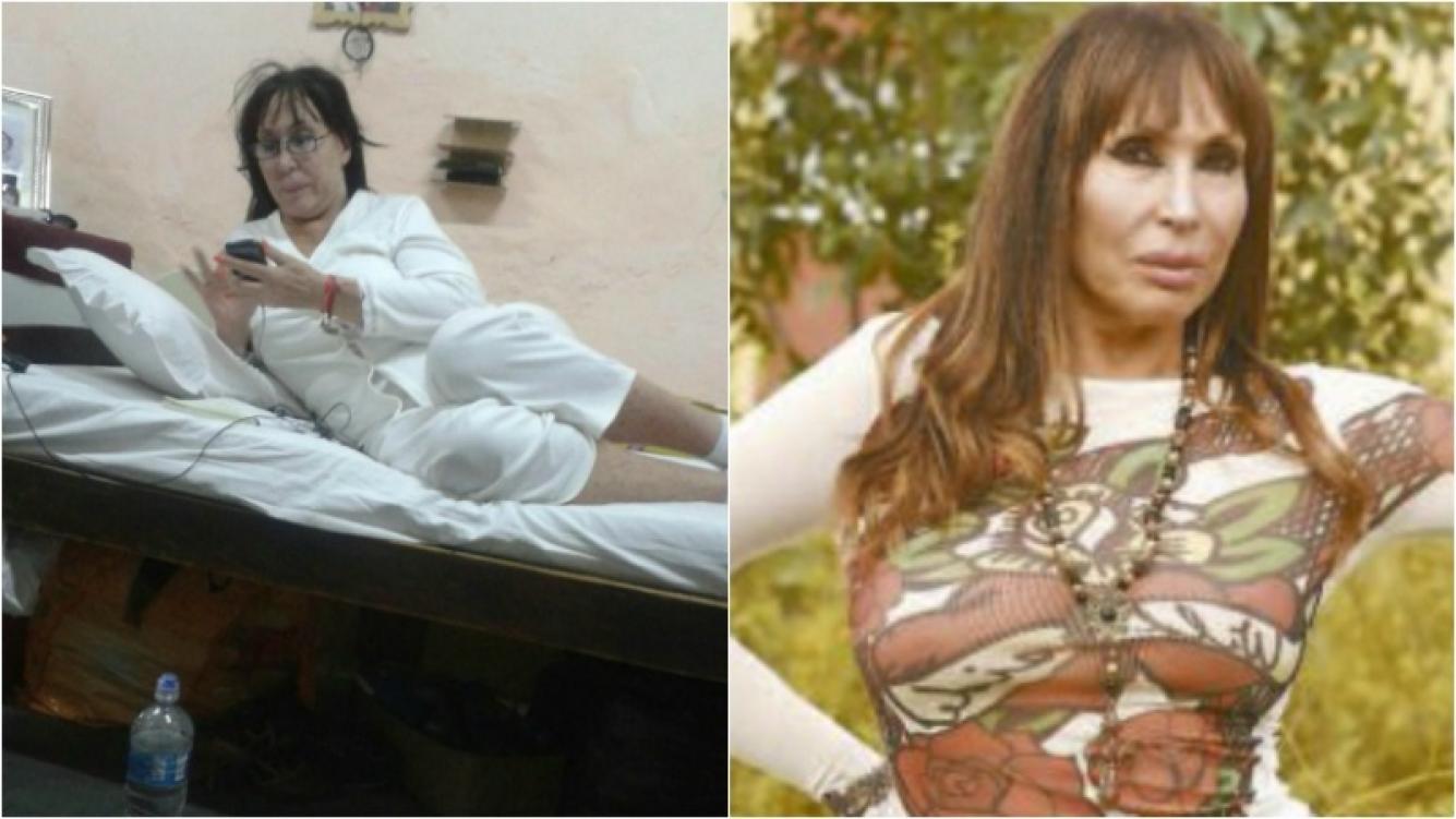 La foto de Moria Casán en la cárcel paraguaya del Buen Pastor. Foto: Web