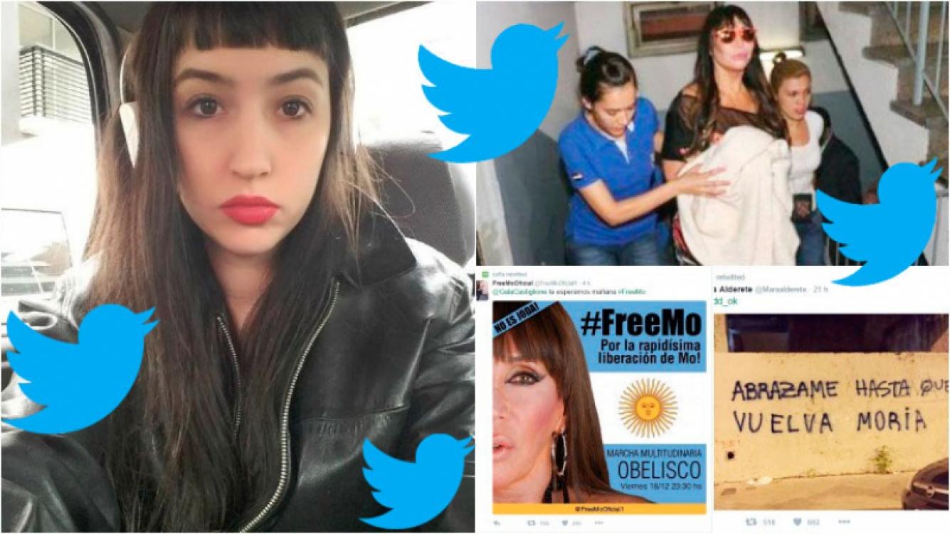 Los primeros tweets de Sofía Gala tras la detención de Moria. Foto: Web/ Twitter