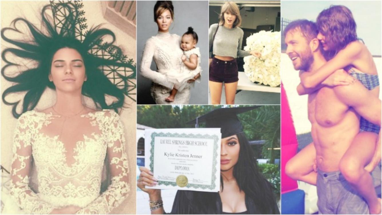 """Las 5 fotos con más """"me gusta"""" de Instagram en 2015."""