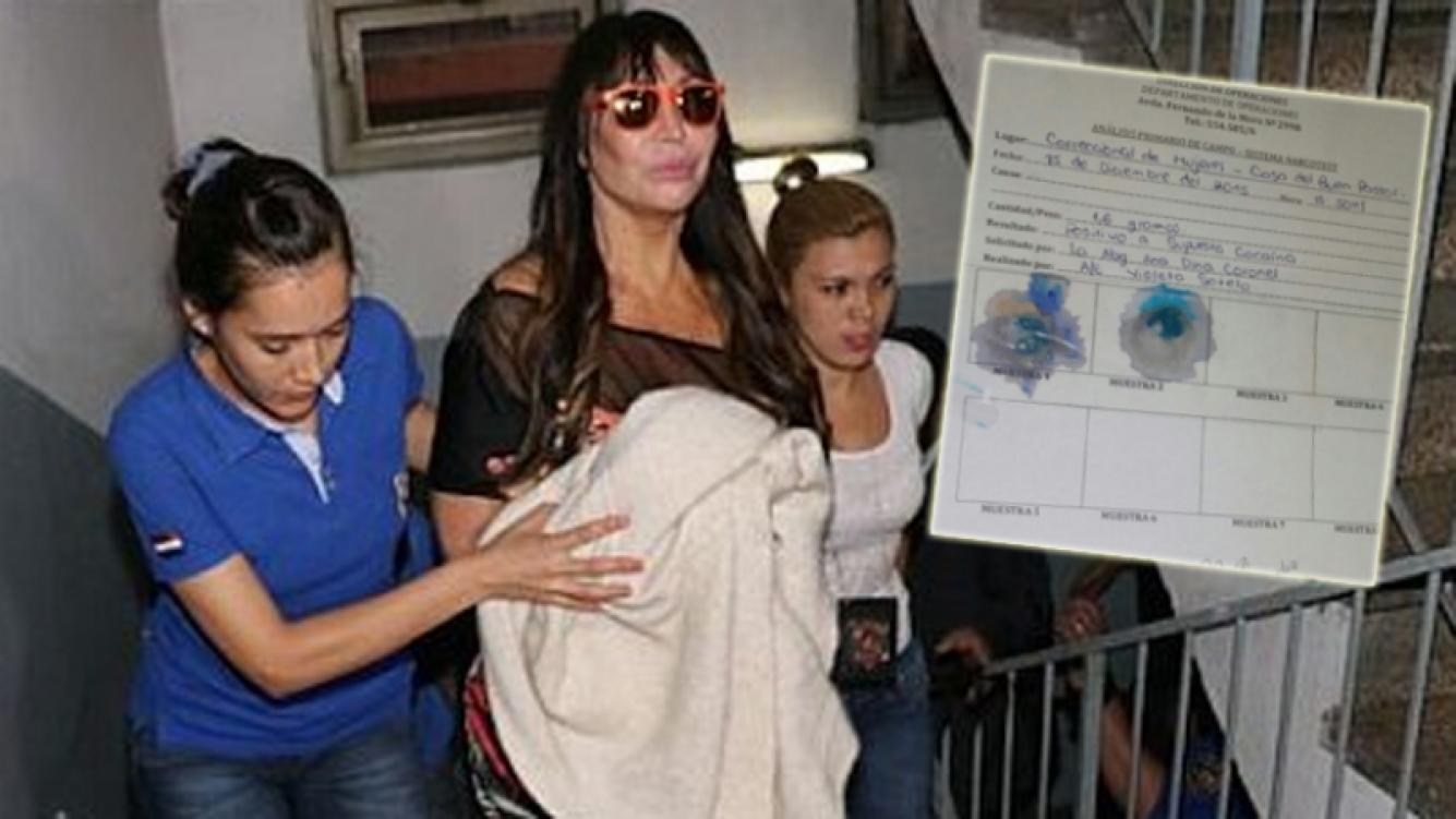 Moria Casán, detenida en Paraguay (Foto: Web)