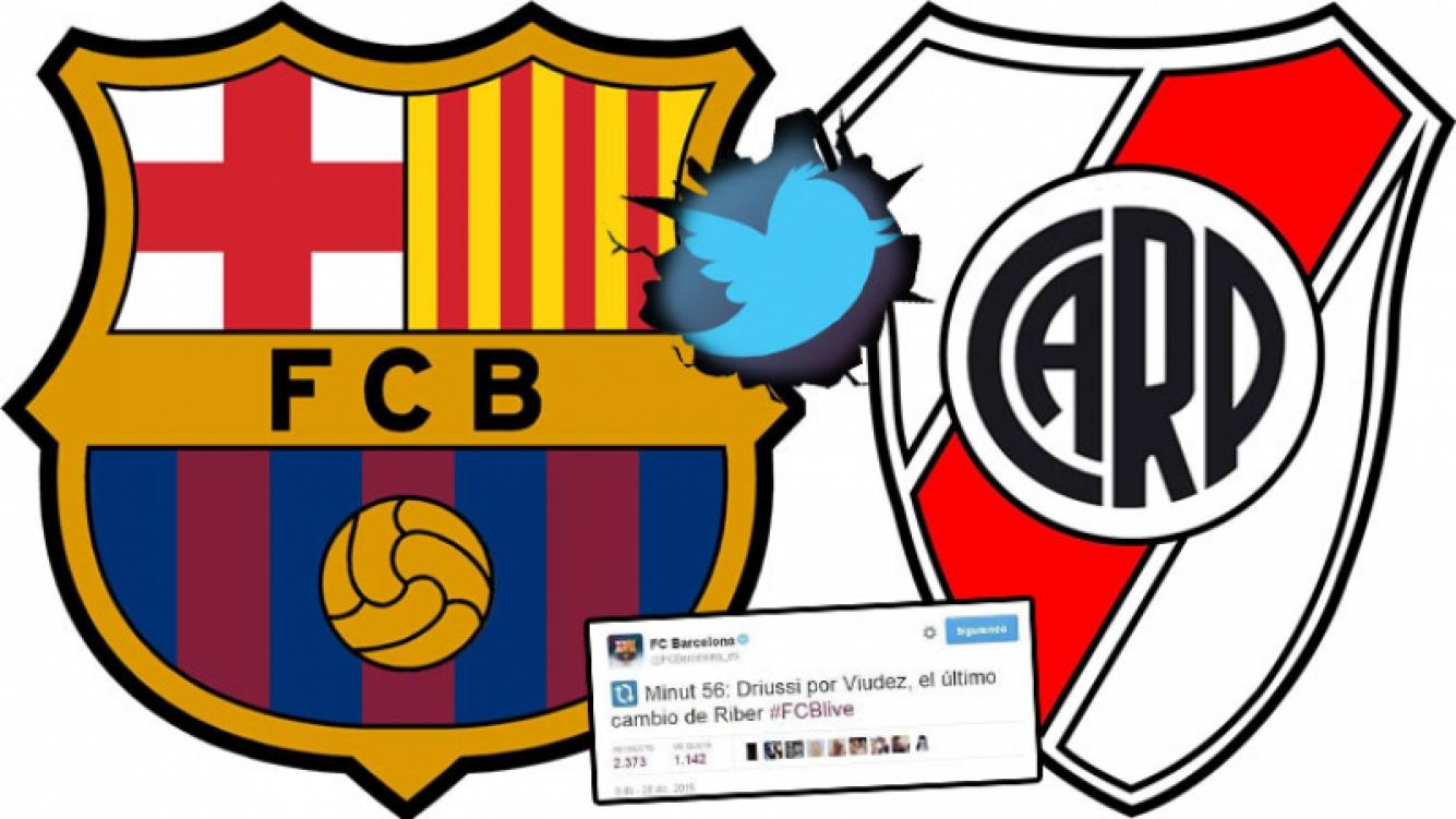 ¡Escándalo mundial! Mirá lo que twitteó la cuenta oficial del Barcelona. Foto: Web
