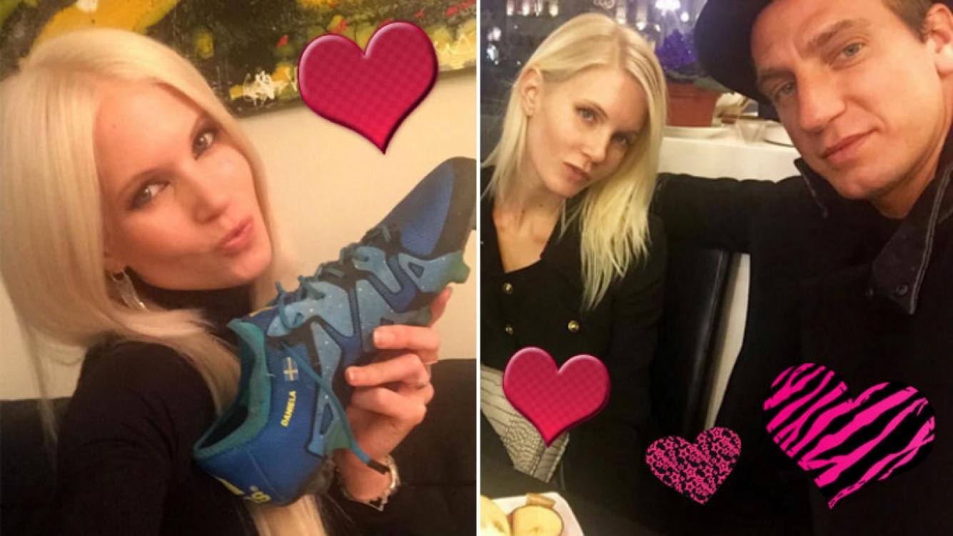 El tierno gesto romántico de Maxi López con su novia sueca. (Foto: Instagram)