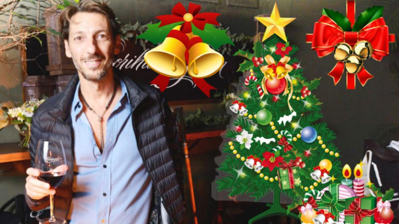 La particular forma de festejar la Navidad de Humberto Tortonese (Foto: Web)