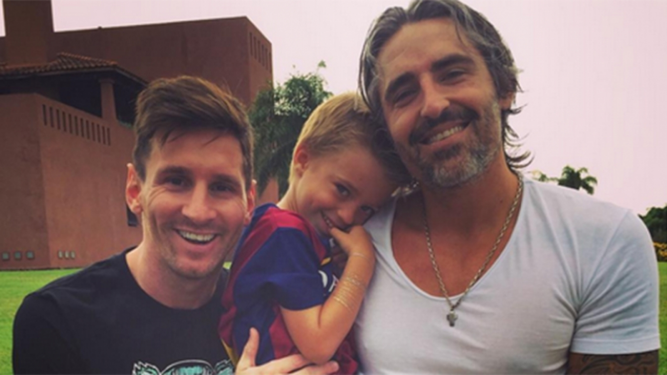 Messi le cumplió el sueño a Indio, el hijo de Rocío Guirao Díaz. Foto: Instagram.