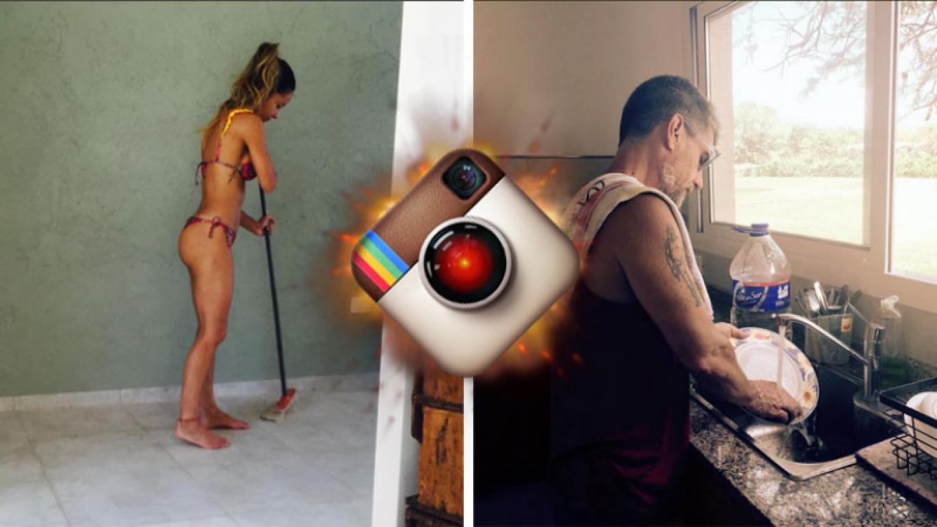 Lourdes Sánchez y el Chato Prada se fotografiaron in fraganti. Foto: Instagram.