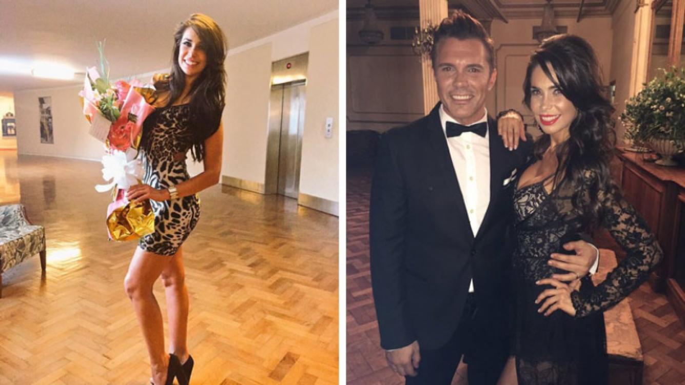 Sabrina Ravelli y Bruno Ragone, su nueva pareja. (Foto: Web)