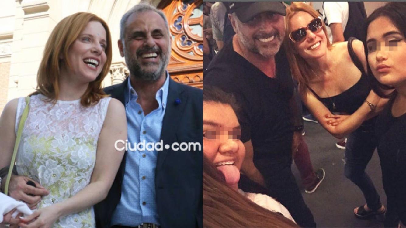 Rial y Kämpfer viajaron con Rocío y Morena a Estados Unidos (Fotos: Archivo Ciudad.com e Instagram).