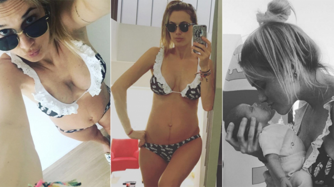 Chechu Bonelli mostró su cuerpo en bikini (Foto: Instagram)